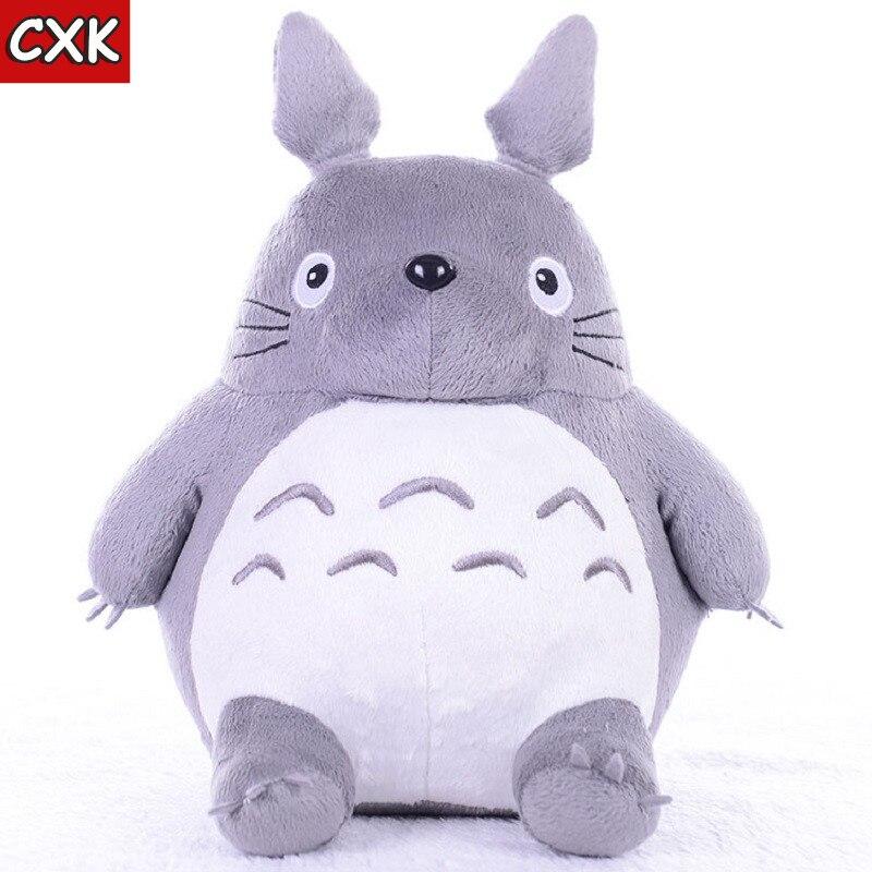 Totoroing Plush Toys Soft Stuffed Animals Anime Cartoon Pillow Cushion Cute Fat Cat Chinchillas Children Birthday Christmas Gift
