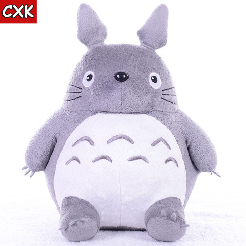 Totoroing Plush Toys Soft Stuffed Animals Anime Cartoon Pillow Cushion Cute Fat Cat Chinchillas Children Birthday Christmas Gift