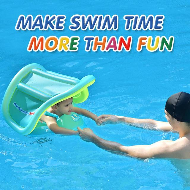 Baby Swimming Ring Inflatable Infant Floating Kids Float Swim Pool Accessories Circle Bath Inflatable Ring Toy For Dropship 4