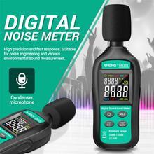 GN101 Digital Noise Meter 35-135 db Sound Level Meter Decibel Monitor Logger Audio Measuring Tool Noise Tester Sound Detector