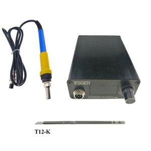 KSGER V2.1S T12 numérique régulateur de température Station de soudage électrique fer à souder conseils T12-K + 907 poignée outils électriques