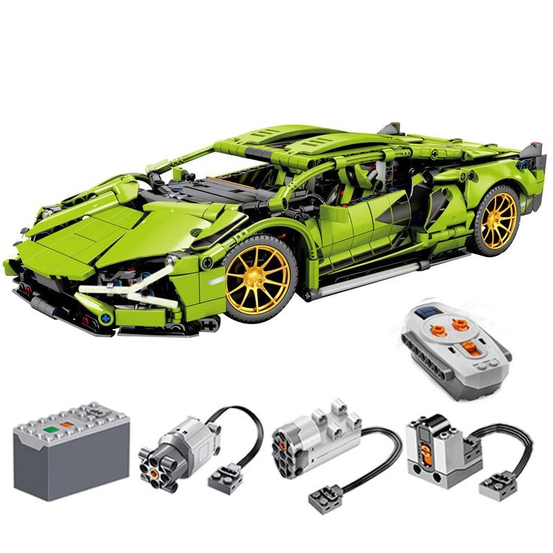 1254 Piece Bricks RC Car Technic Creator City Model Building Blocks Boys Birthday Gift Kids Remote Controrl Toys For Children