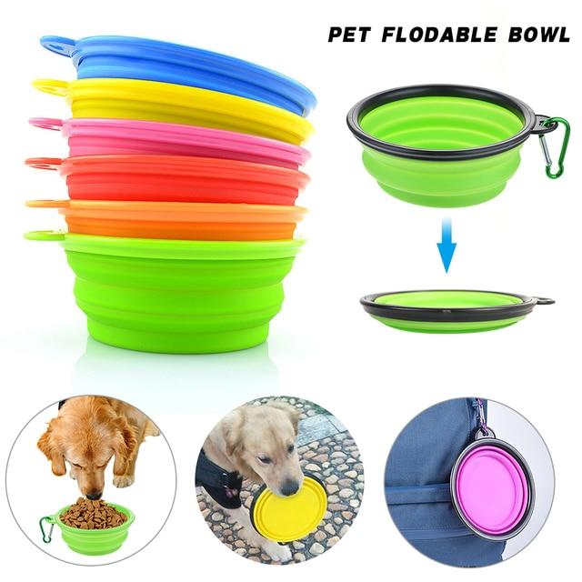 Foldable Portable Travel Bowl  5