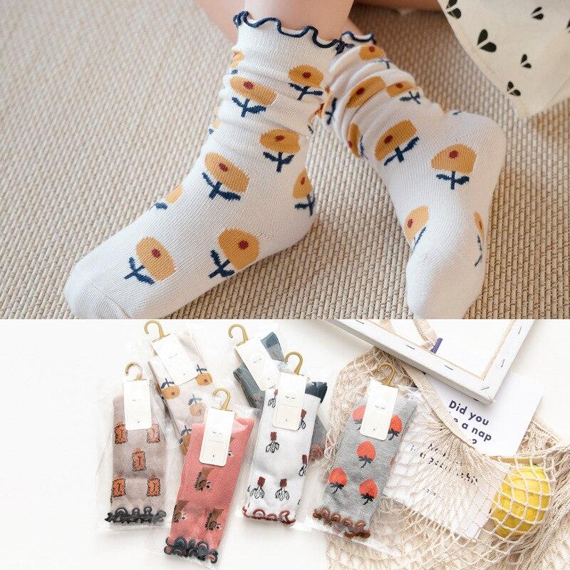 Wholesales Thicken Baby Kids Socks Flower Winter Soft Warm Socks For Children Boys Thermal Floor Baby Girls Socks Cute