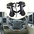 Botones de control de volante negro con кабели для Toyota Land Cruiser Prado 2018 botones de estilo de coche