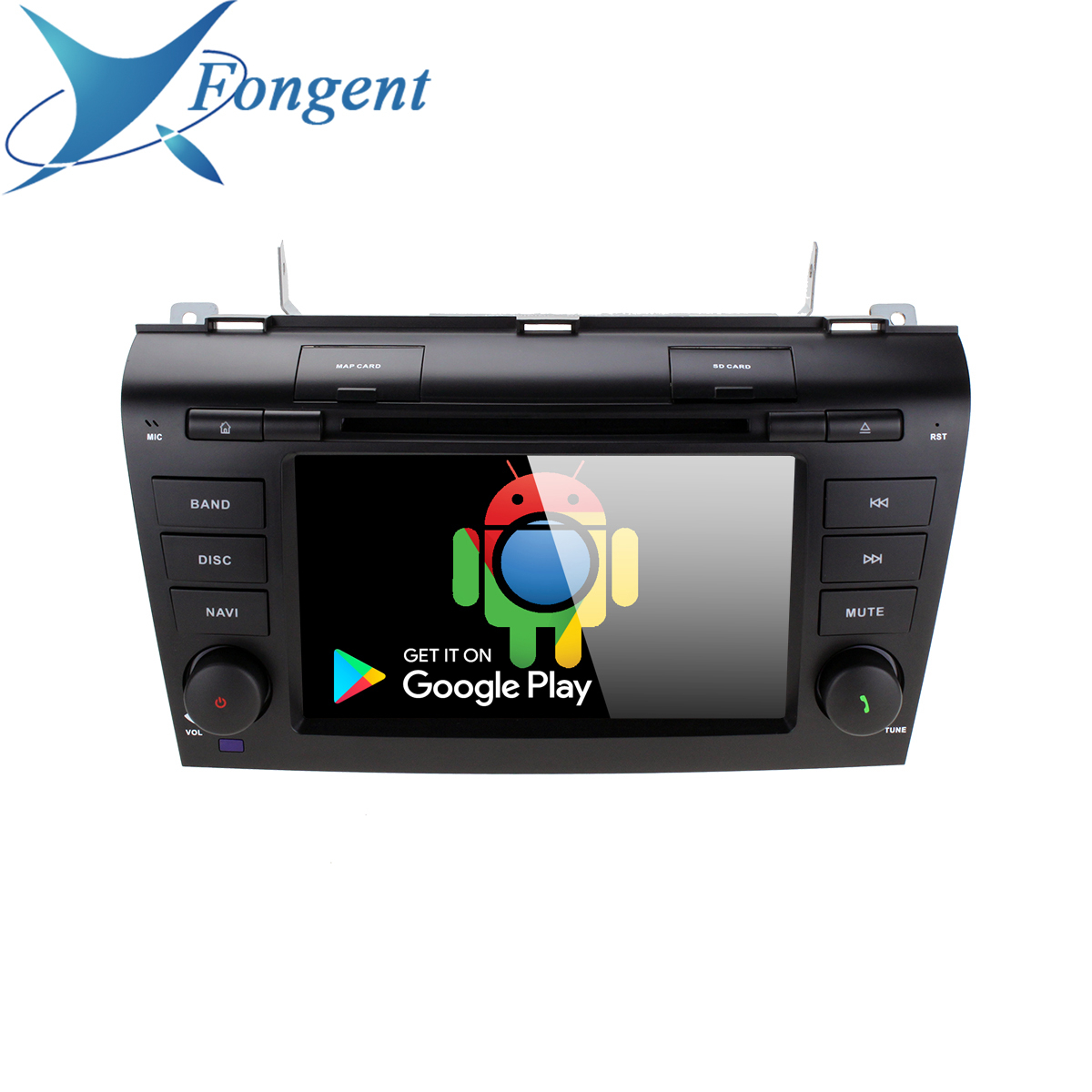 for MAZDA3 <font><b>MAZDA</b></font> <font><b>3</b></font> <font><b>2004</b></font> 2005 2006 2007 2008 2009 Multimedia Android DSP Unit DVD Player GPS Navi Stereo 2 din Radio carplay PX6 image