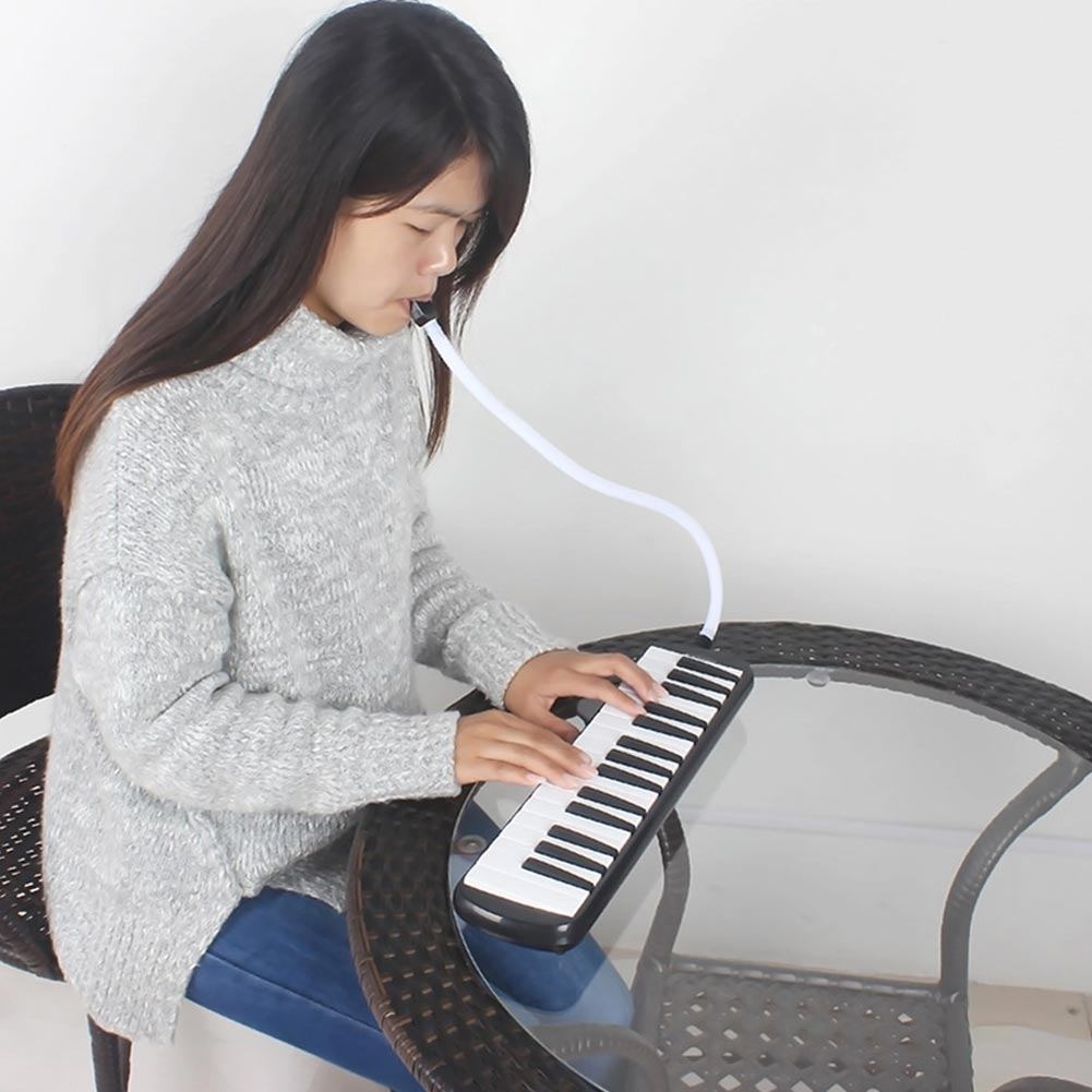 High 32 Piano Keys Melodica Musical Instrument For Music Lovers Beginners Gift With Carrying Bag KTC 66