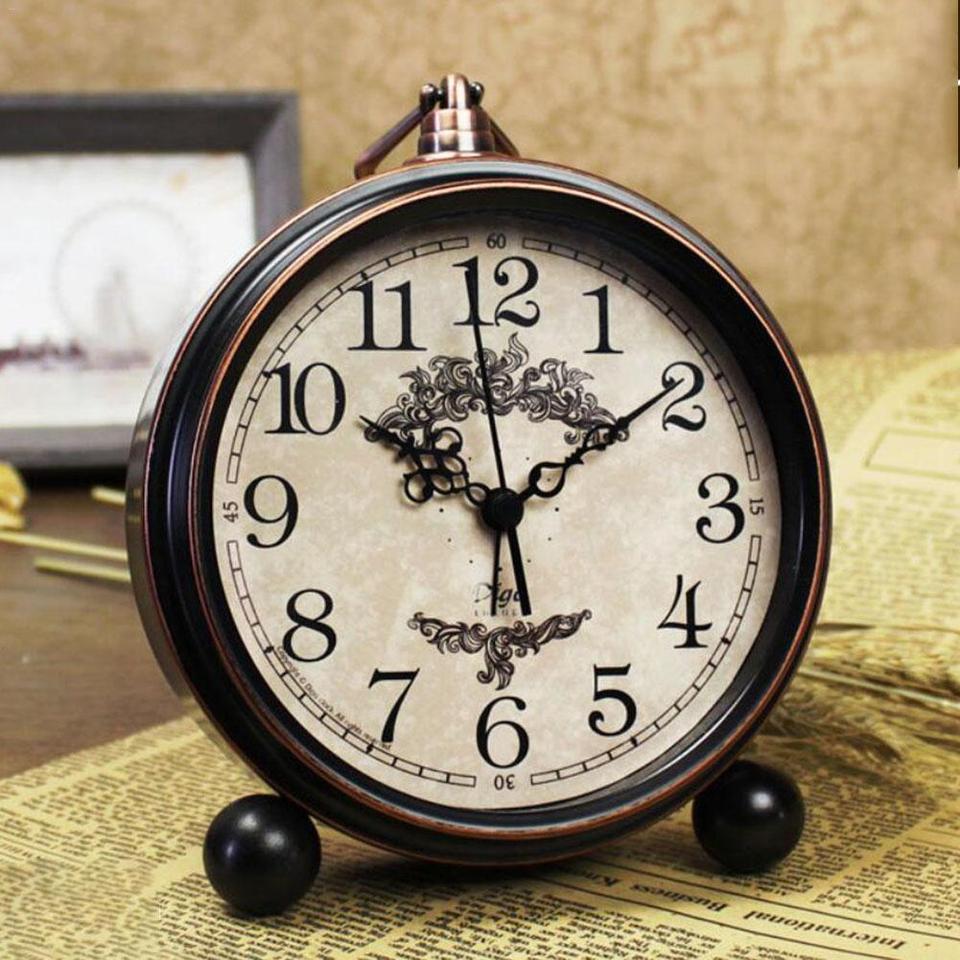 European Vintage Old Fashioned Alarm