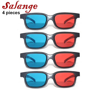 Universal Black Frame Red Blue