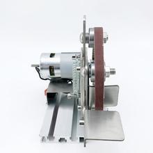 Сумеречная миниатюрная мини-ленточная машина Diy полировальная машина шлифовальная машина фиксированный угол заточки лезвия рабочего стола