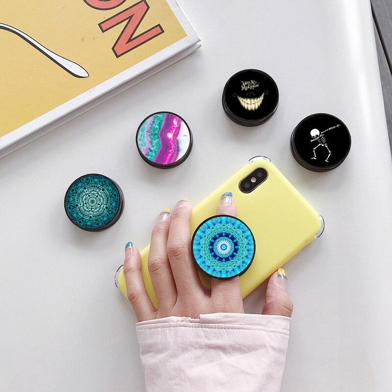 Hot Selling Foldable Phone Holder Stand Universal Finger Ring Holder Phone Bracket For Smartphone Tablets