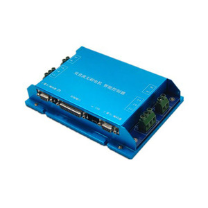 Image 3 - RS232 Can open control 24V 400W 200W bldc servomotor with 4:1 7:1 planetary gearbox with dual channel controller