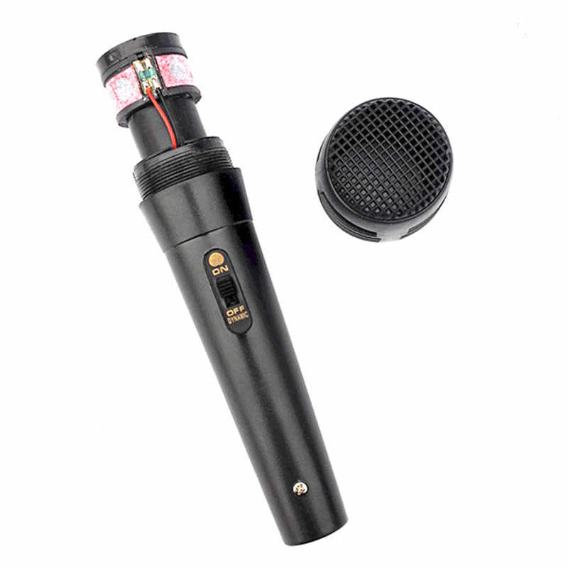 Micrófono de mano Pro micrófono dinámico micrófono de mano con cable Karaoke USB KTV reproductor micrófono altavoz grabador de música micrófonos