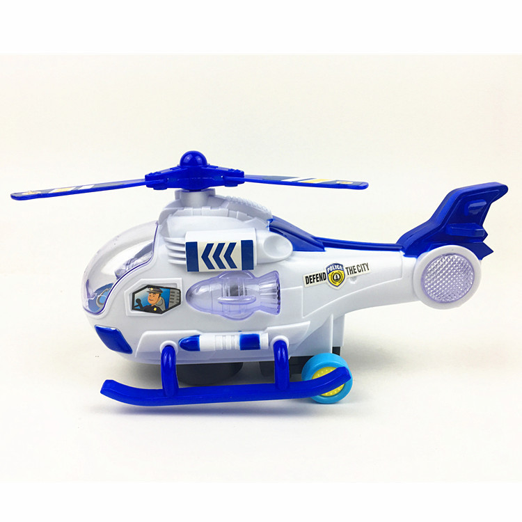 Children Electric Universal Toy Music Flash Airplane Electric Universal Helicopter Stall Hot Selling