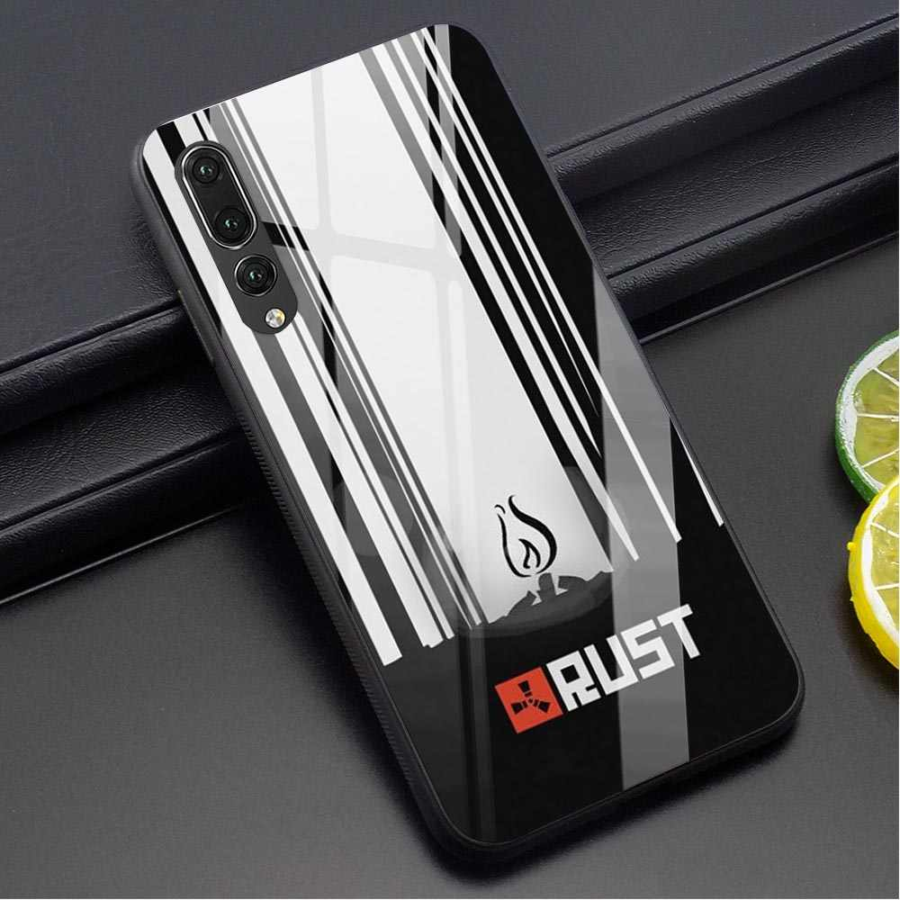Rust game Tempered Glass Phone Case for Huawei MATE 20 PRO Cover Mate 20 Lite Honor 9 10 Lite 7A P10 P20 P30 PRO P Smart