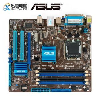 Asus P5G41C-M LX настольная материнская плата G41 с разъемом LGA 775 для Core 2 Duo DDR3 8G SATA2 VGA uATX оригинальная б/у материнская плата