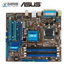 Asus P5G41C M lx desktop placa mãe g41 soquete lga 775 para core 2 duo ddr3 8g sata2 vga uatx original usado mainboard