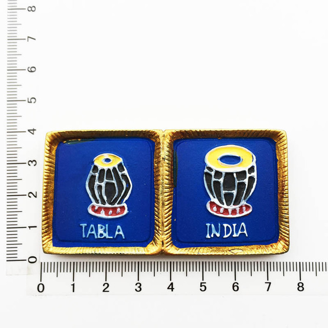 Delhi India Kühlschrankmagnet Souvenir 52mm x 77mm Fridge Magnet