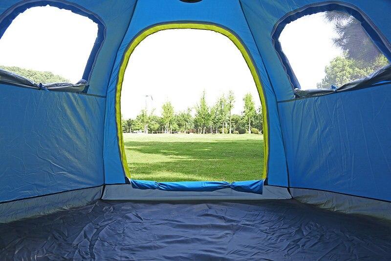 Outdoor Fishing Automatic Tent Camping Garden Picnic Set Hunting Roof Tent Tabernacle Beach Windbreak Fiberglass Pole (9)