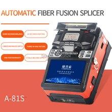 A 81S Orange Fully Automatic Fusion Splicer Machine Fiber Optic Fusion Splicer Fiber Optic Splicing Machine