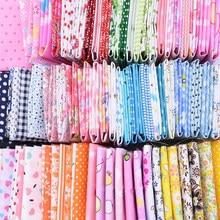 7 teile/satz Dot Streifen Gedruckt Patchwork Baumwolle Stoff Tücher Für DIY Nähen Handwerk Material Tilda Hand Tissue Tuch 25*25cm