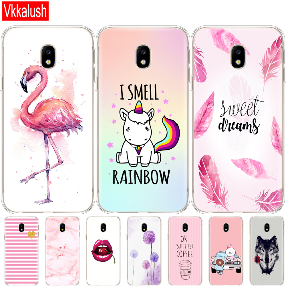 <font><b>Case</b></font> For <font><b>Samsung</b></font> Galaxy <font><b>J5</b></font> <font><b>2017</b></font> J530F <font><b>J5</b></font> Pro <font><b>2017</b></font> <font><b>Case</b></font> Soft TPU Silicon Phone shell Cover for <font><b>Samsung</b></font> <font><b>J5</b></font> <font><b>2017</b></font> J530 cover image