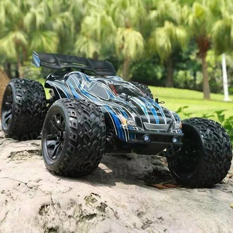 High Power JLB Racing CHEETAH 1/10 Brushless 80 km/h 1:10 RC Car Monster Trunk 21101 RTR with Transmitter RC Toys
