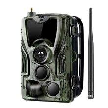 Hc-801M охотничья камера 2G Sms/Mms/Smtp Дикая камера 0,3 S триггер фото-ловушки для животных 16Mp Hd ночная версия камеры скаута
