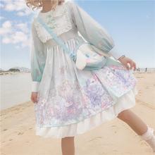 Платье в стиле Лолита для девочек женское платье одежда принцессы