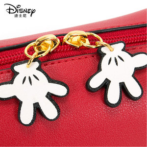 Image 5 - Disney Kosmetische Tasche Nette Mickey Multi funktion Frauen Handtasche Make Up Wasserdichte Reise Kosmetik Tasche Frauen Leder Handtaschen
