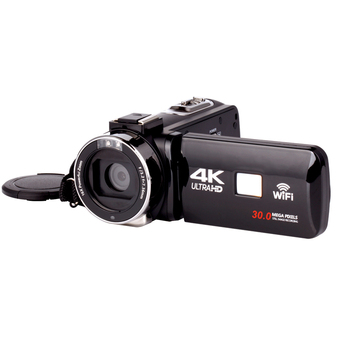 KOMERY 4K Video Camera WIFI 30MP Handycam Vlogging For Youbute Night Vision Touch Screen 16X Photography Camcorder
