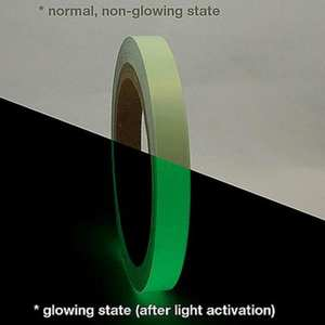 Self-Adhesive-Tape Glowing Home-Decoration Night-Vision Warning 1cm 3M/10M