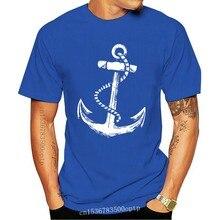 Navy Kapitan Herren T Shirt Mit Schiff Anker Piraten Strang Segeln Tattoo