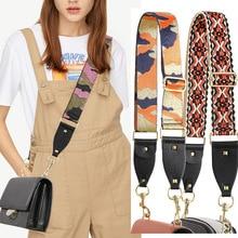 Nylon couleur femmes sac sangle Camouflage ceinture pour bandoulière réglable sac accessoires poignée bretelles pour sacs