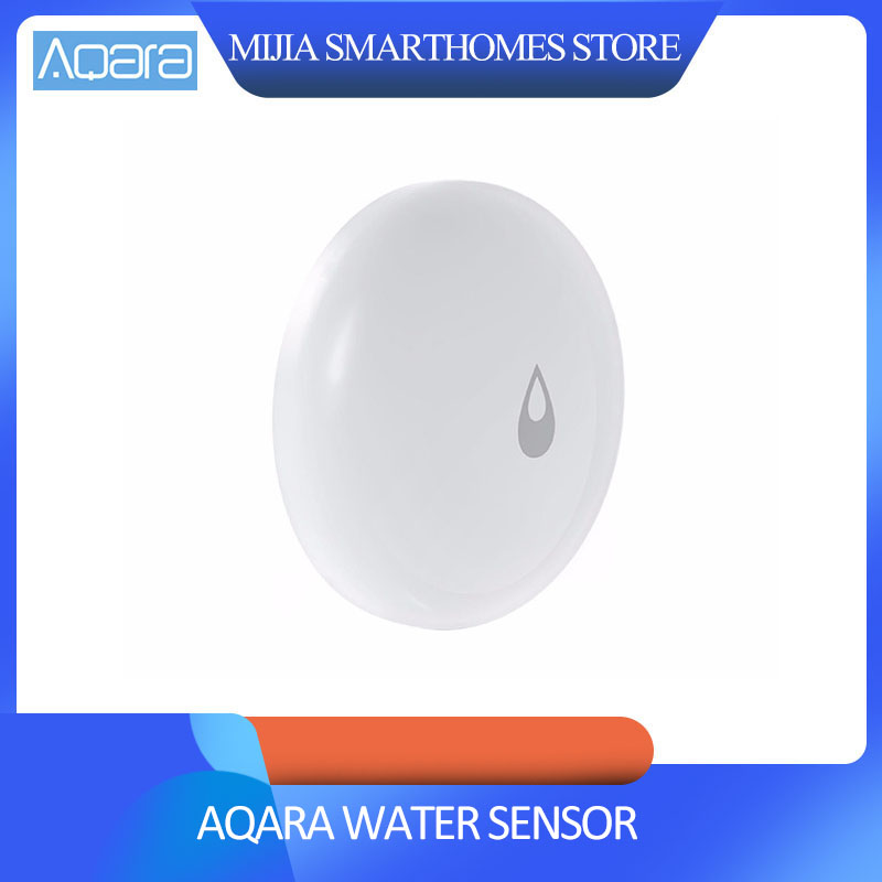 Original Xiaomi Mijia Aqara Water Immersing Sensor Flood Water Leak Detector For Home Remote Alarm Security Soaking Sensor
