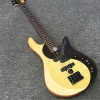 High quality 4 string bass, maple neck, Jin Sinan xylophone body, yin and yang bass, musical instruments, postage