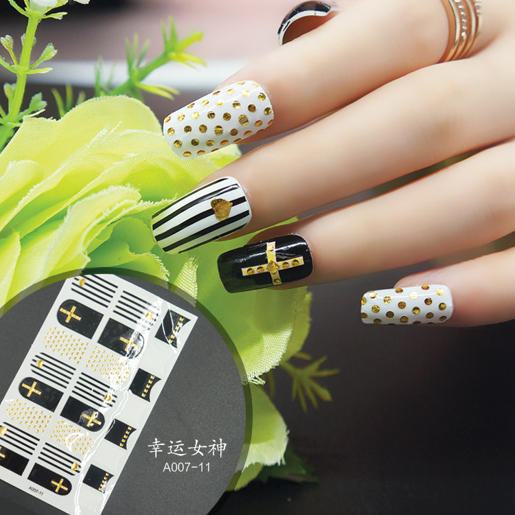 Nail Sticker Stereo Stick Completely Manicure Nail Sticker