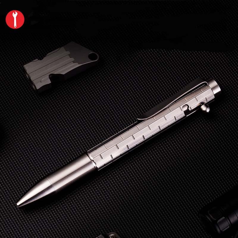 EDC Titanium Alloy Self Defense Survival Safety Tactical Pen  Multi functional EDC Portable Tools|Outdoor Tools| |  - title=