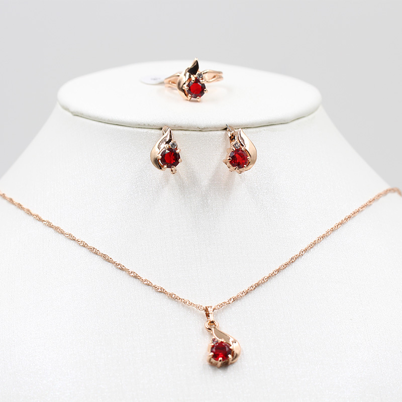 Hot Promo 7bf1 Vick Dolly Rose Gold Jewelry Set African Bride