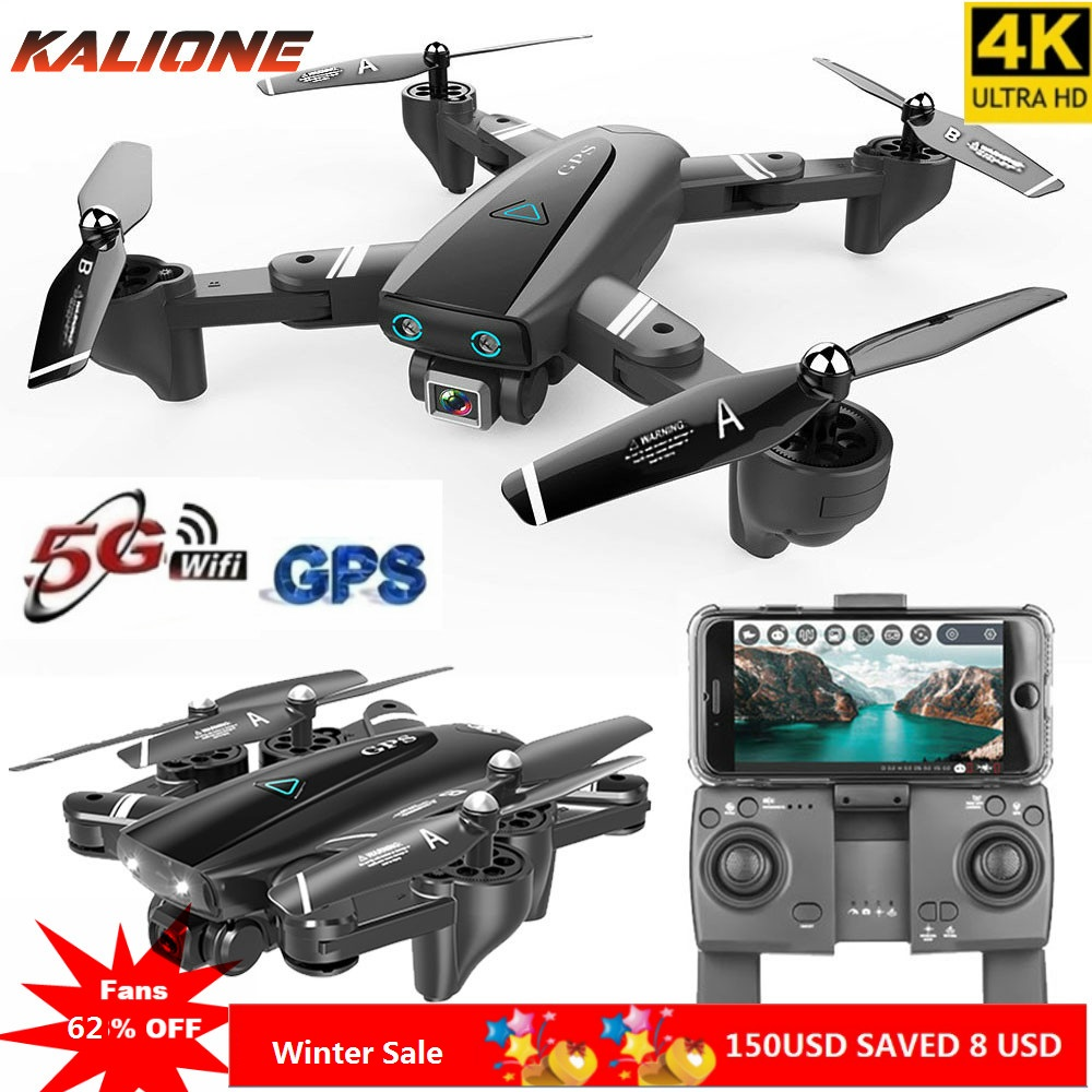 k com Câmera Wifi Drone hd ar Pix Anti-shake Quadrocopter Fpv rc Quadcopter Dron Selfie Siga-me 5g Gps 4