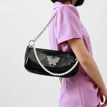 2020 New Women's Armpit bag PU Leather Female Shoulder Bag P