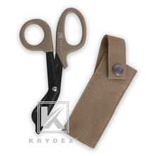 Pouch-Set Scissor Hand-Tools Molle-Holder Tactical-Emt Outdoor KRYDEX 2-In-1 Shears