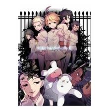 Wall Mural Art-Painting Poster Cartoon Home-Decor Promised Neverland Anime No The Yakusoku