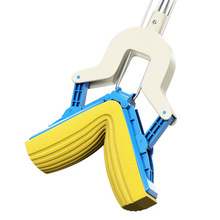 Hot sale Mops Fold free hand wash Mop with to replace Cleaning sponge mop head for Home Floor cleaning tools