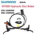 SHIMANO DEORE SLX M7000 M7100 Bremse Mountainbikes Hydraulische Scheiben Bremse BR BL M7000 Vorne und Hinten 850 MM- 1600MM Fahrrad Teile