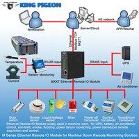 Ethernet Remote IO Module for Machine Room Remote Monitoring Solution