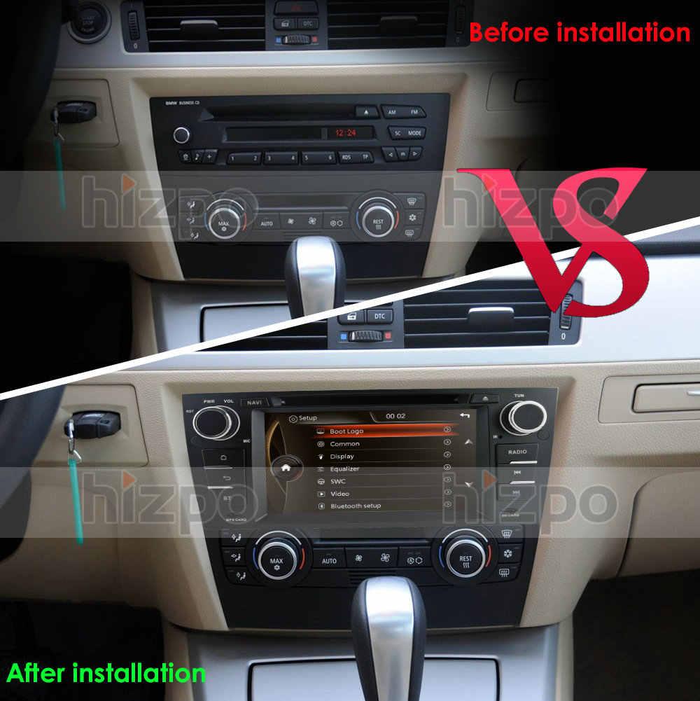AutoRadio 2din Gps のヘッドユニット BMW 3 シリーズ E90/E91/E92/E93 車 DVD プレーヤー GPS ナビゲーションインダッシュマルチメディアプレーヤー