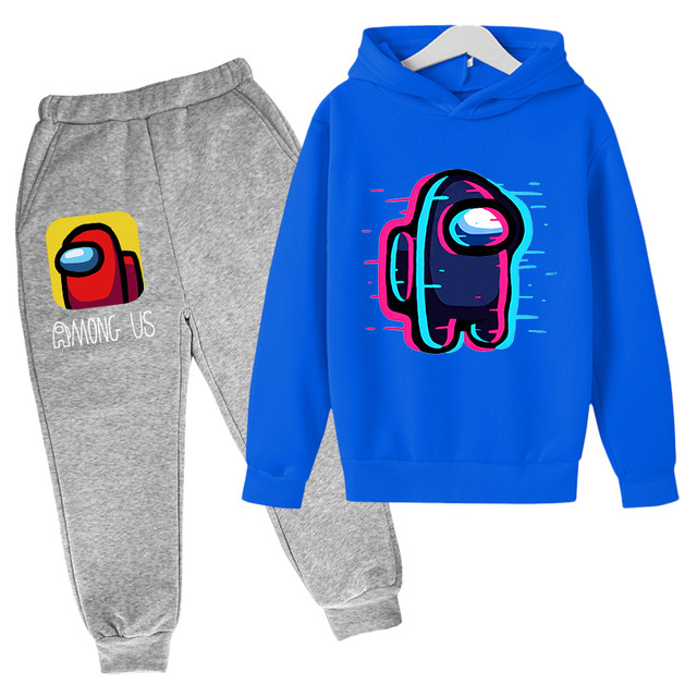 Kids Boy Girl Hoodie Coat Among Us Digital Print Zip Sweatshirt Jacket Outerwear