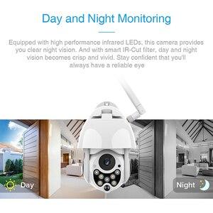Image 5 - פרדי אוטומטי מעקב חיצוני PTZ IP מצלמה 1080P מהירות כיפת מעקב מצלמות עמיד למים אלחוטי WiFi אבטחת CCTV מצלמה
