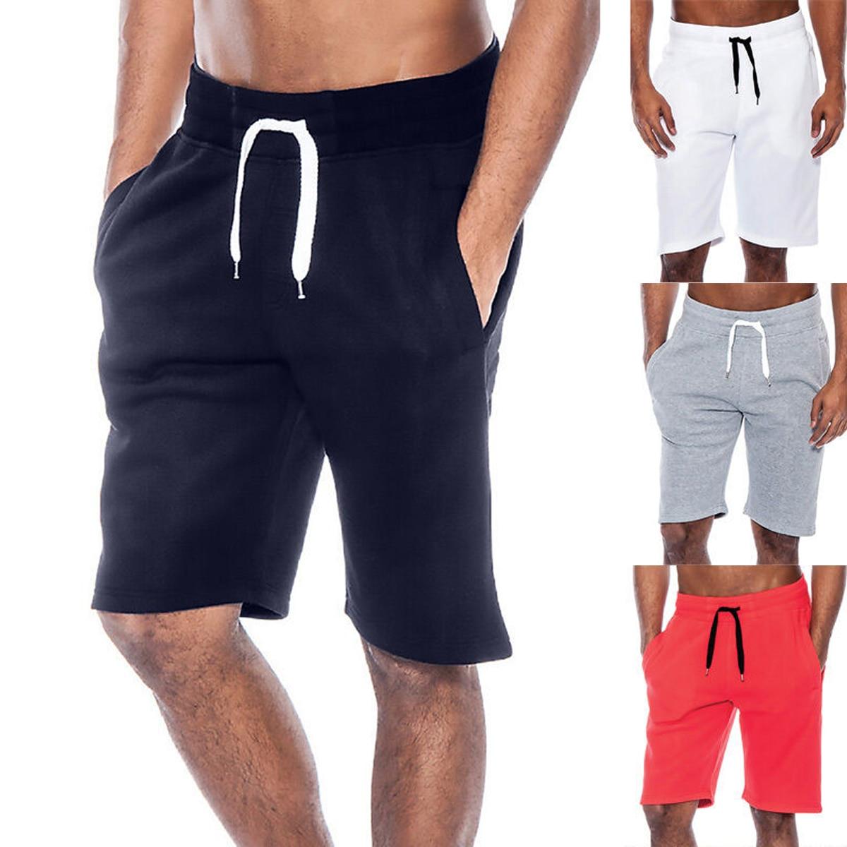 New 2020 Summer Men Casual Tech Fleece Shorts Baggy Gym Sport Jogger Sweat Beach Shorts